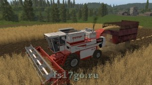 Мод комбайна «СК-10 Ротор» для Farming Simulator 2017