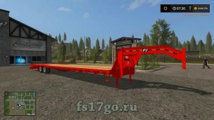 Мод трал «PJ 40FT Red» для Farming Simulator 2017