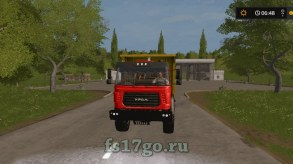 Мод самосвал «Урал-М» для Farming Simulator 2017
