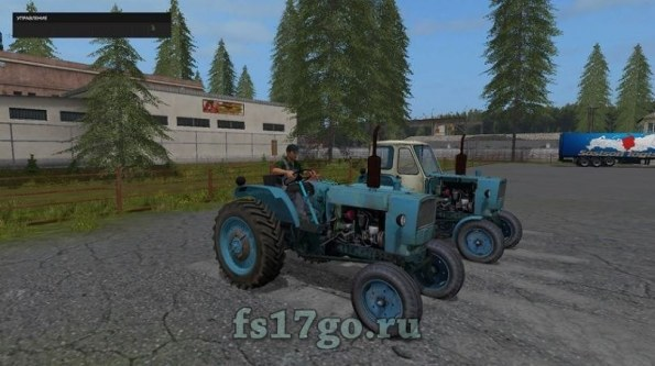 Мод трактора «ЮМЗ-6Г» для Farming Simulator 2017