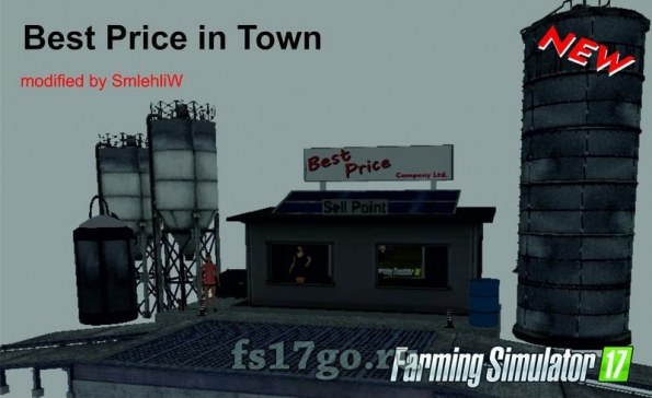 Пункт продажи «BestPrice» для Farming Simulator 2017