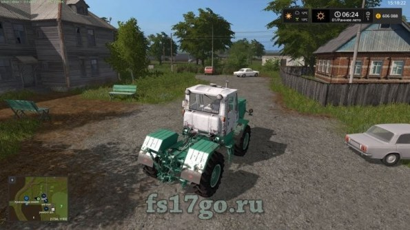Карта «Максимовка + Сезоны» для Farming Simulator 2017