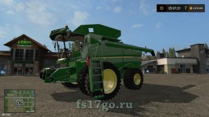 Мод «John Deere S600 US Version Model 2012» для FS 2017