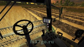 Мод комбайн «John Deere W330» для Farming Simulator 2017