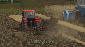 Мод тюкопресс «Fahr APN» для Farming Simulator 2017