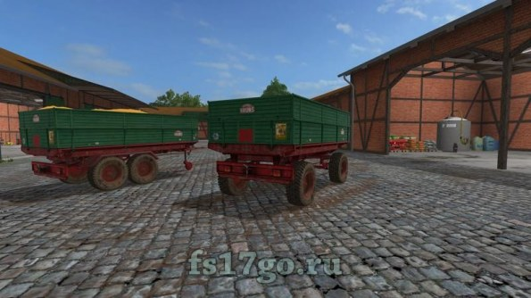 Мод «Bruns Trailer» для Farming Simulator 2017