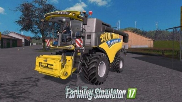 Мод «New HOLLAND CR 6.90» для Farming Simulator 2017