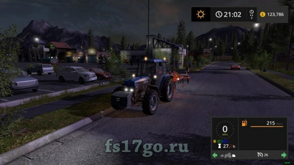 Мод Скрипт «Light Hud Addon» для Farming Simulator 2017