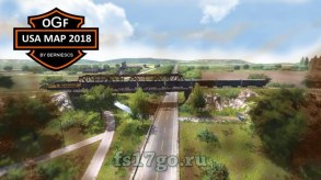 Карта «OGF USA Map 2018» для Farming Simulator 2017