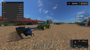 Мод плуг «Blu Jet Sub Till 4» для Farming Simulator 2017