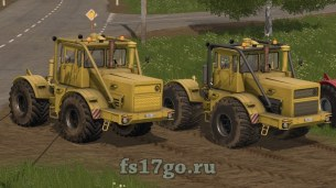 Мод «Кировец К-700А V2 by Erlan10» для Farming Simulator 2017