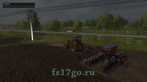 Мод сеялка «АПП-6П Edit» для Farming Simulator 2017