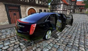 Мод лимузин «Cadillac XTS Limo» для Farming Simulator 2017