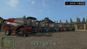 Мод комбайна «BD Harvester» для Farming Simulator 2017