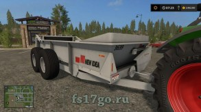 Мод «New Idea 3936 Spreader» для Farming Simulator 2017