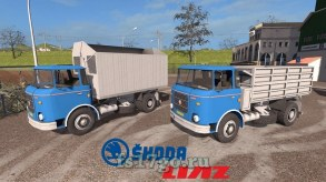 Мод «Skoda Liaz 706 & Swap Bodies Pack» для FS 2017