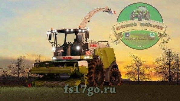 Мод «Claas Jaguar 900 Type 496» для Farming Simulator 2017