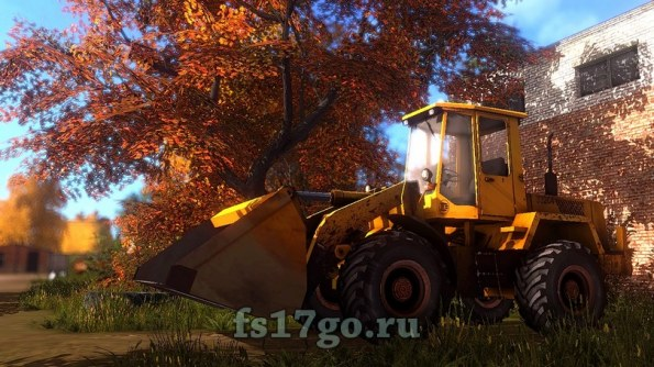 Мод погрузчик «Амкодор-332С4» для Farming Simulator 2017