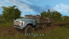 Мод «ЗиЛ-130 Gear Box» для Farming Simulator 2017