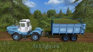 Мод «ППТС-12» для Farming Simulator 2017