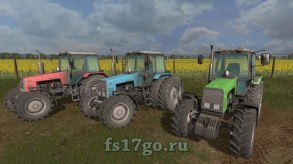 Мод «МТЗ-1221 Multicolor by Weder» для игры FS 2017