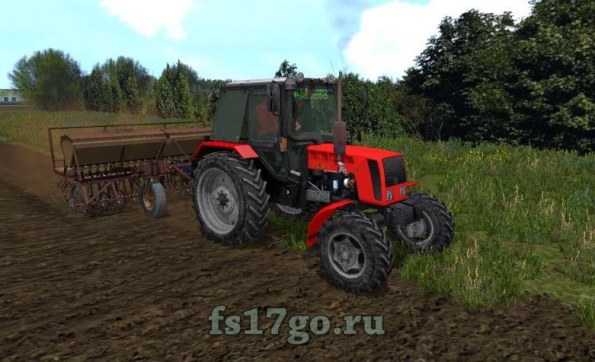 Мод «МТЗ-82 Рестайлинг MR» для Farming Simulator 2017