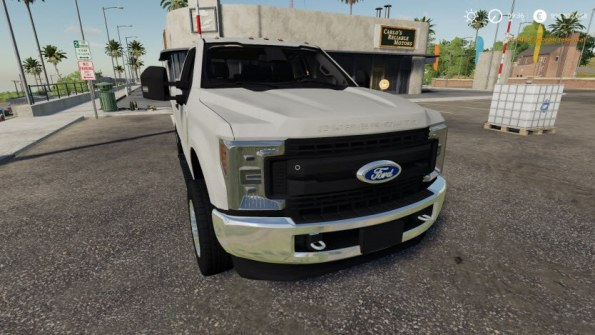 Мод пикап «Ford F-250» для Farming Simulator 2019