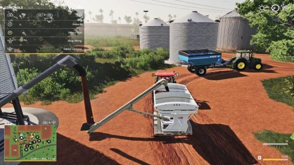 Мод «Placeable Seeds Fill Station w/Auger» для Farming Simulator 2019