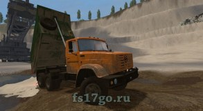 Мод «Зил-4514 Gear Box» для Farming Simulator 2017