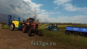 Мод «Заря ОПГ 2500-24-04Ф» для Farming Simulator 2017