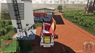 Мод «Placeable Lime Station w/Auger» для Farming Simulator 2019