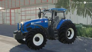 Мод «Landini Legend 165/185 TDI» для Farming Simulator 2019
