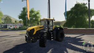 Мод «JCB Fastrac 8330 by Stevie» для Farming Simulator 2019