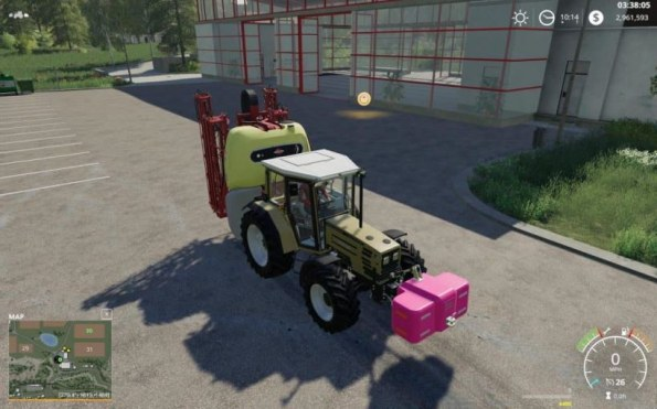 Мод «Hardi Mega 220» для Farming Simulator 2019
