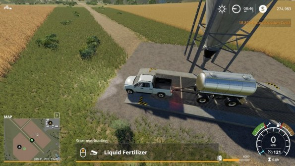 Мод «MKS8 Chemical Tank» для Farming Simulator 2019