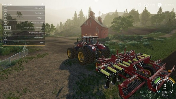 Мод «Cultiplow Platinum 8m By Stevie» для Farming Simulator 2019