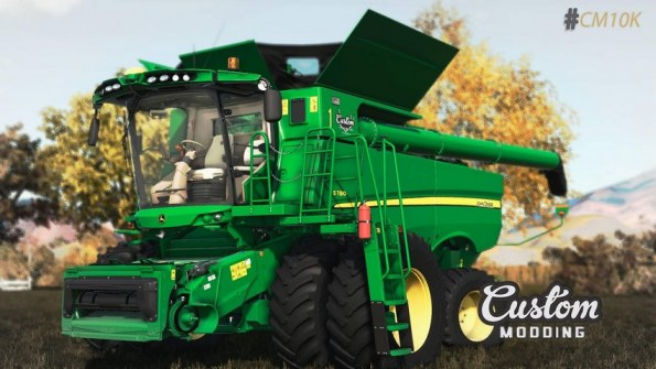 Мод «John Deere S700» для Farming Simulator 2019