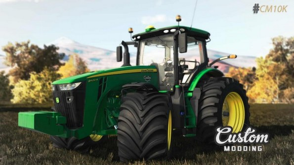 Мод «John Deere 8R» для Farming Simulator 2019