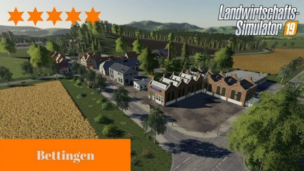 Карта «Bettingen Map» для Farming Simulator 2019