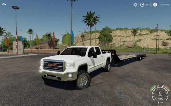 Мод «2016 GMC Sierra 2500HD» для Farming Simulator 2019