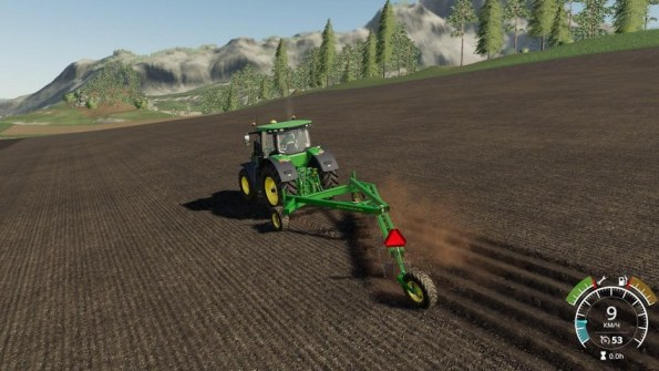 Мод плуг «John Deere 995» для Farming Simulator 2019