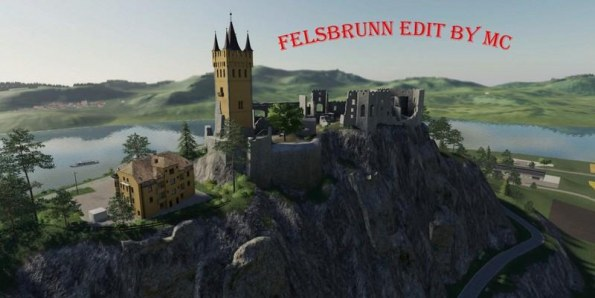 Карта «Felsbrunn Edit By MC» для Farming Simulator 2019