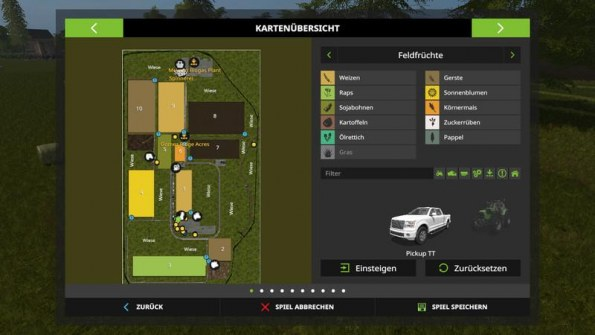 Карта «Munshausen Map» для Farming Simulator 2017