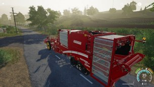 Мод «Grimme Varitron 470 by Stevie» для Farming Simulator 2019