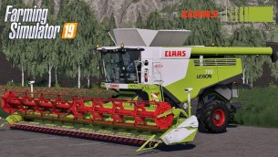 Мод «Claas Lexion 780 Full Pack» для Farming Simulator 2019