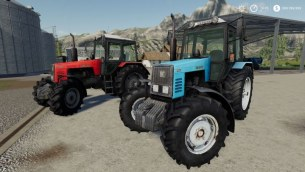 Мод Пак «МТЗ-1221» для Farming Simulator 2019
