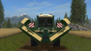 Мод «Krone Big Mower» для Farming Simulator 2017