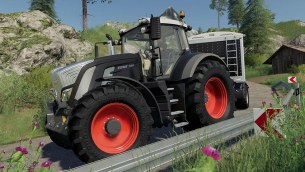 Мод «Fendt 900 Black Beauty» для Farming Simulator 2019