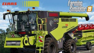 Мод «Claas Lexion 795 Monster Limited Edition» для FS 2019