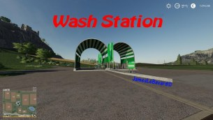 Мод «Wash Station» для Farming Simulator 2019